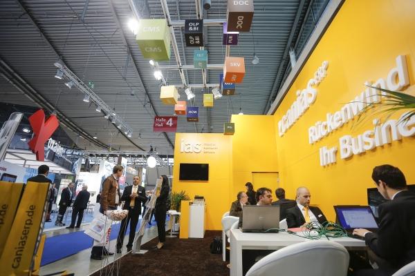 Die Fachmesse für digitale Prozesse und Lösungen gibt Rückenwind fürs Business (Quelle: Messe Stuttgart).